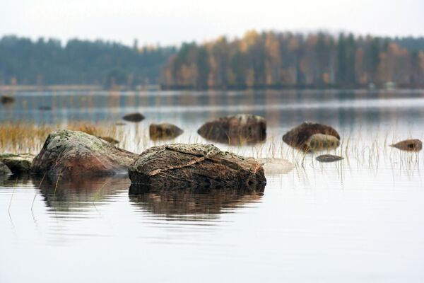 Jezero Tolvojarvi v Karelské republice - Sputnik Česká republika