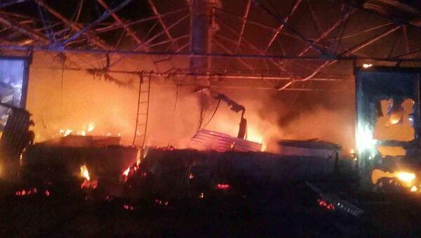 Požár v Nitře - Sputnik Česká republika