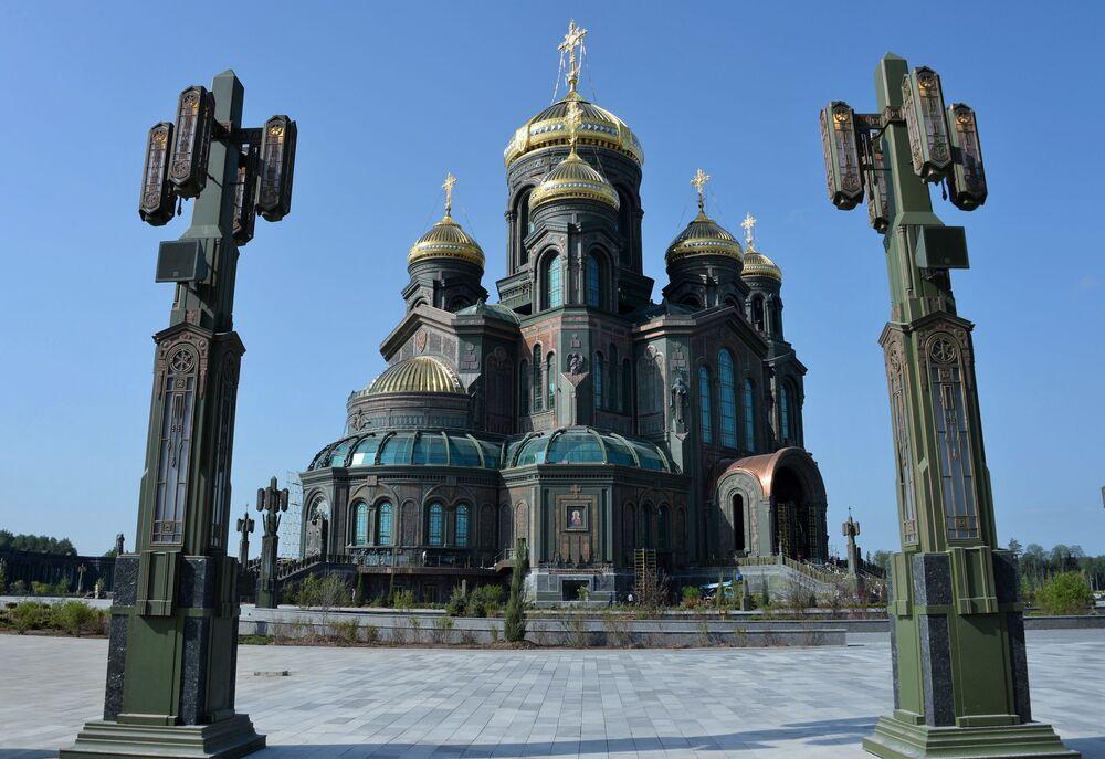 Hlavní chrám Ozbrojených sil Ruské federace v parku Patriot, Moskevská oblast