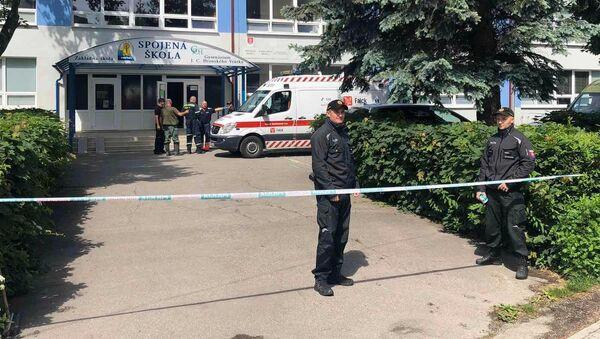 Na základní škole ve Vrútkách došlo k útoku. - Sputnik Česká republika