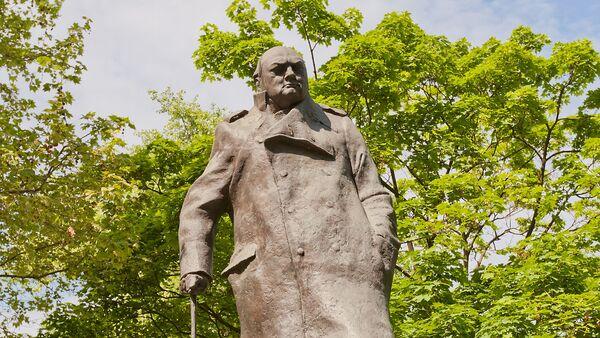 Pomník Winstonu Churchillovi v Praze - Sputnik Česká republika