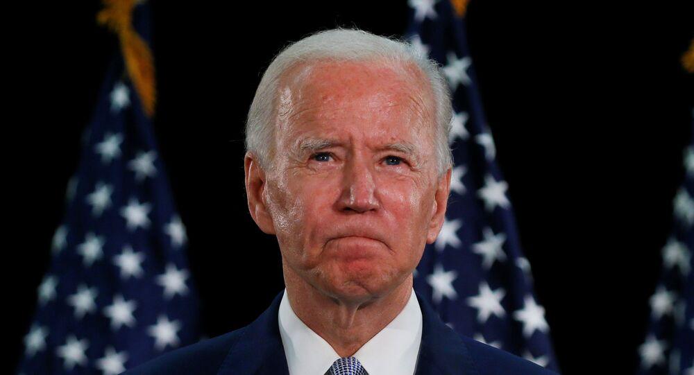 Kandidát na prezidenta za demokraty Joe Biden