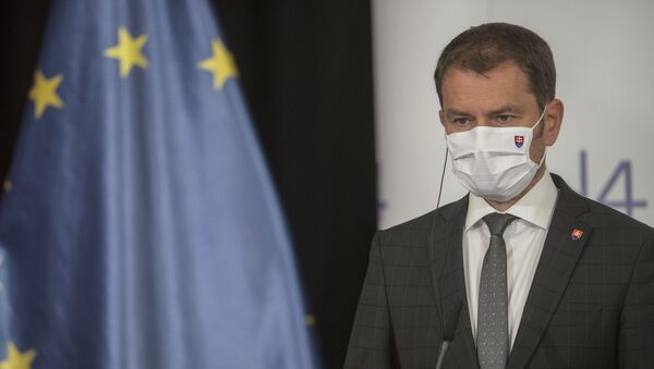 Premiér Matovič - Sputnik Česká republika