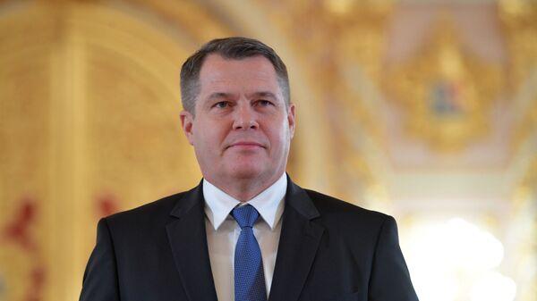Český velvyslanec v Rusku Vítězslav Pivoňka  - Sputnik Česká republika
