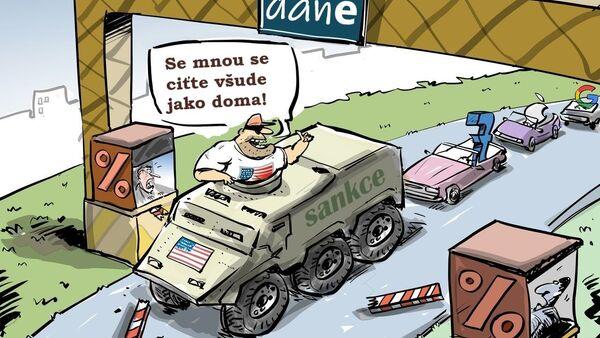 Spojené státy zvažují odvetná opatření vůči Evropě - Sputnik Česká republika