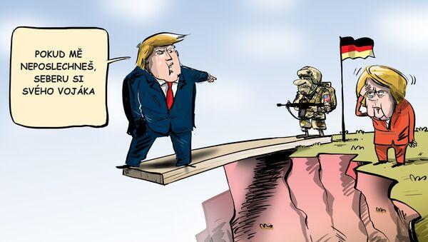 Americká vojska se nacházejí v Německu pro zachování transatlantické bezpečnosti - Sputnik Česká republika