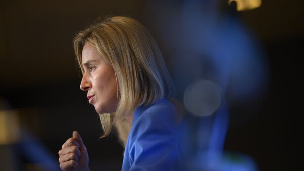 Šéfka diplomacie Evropské unie Federica Mogheriniová - Sputnik Česká republika