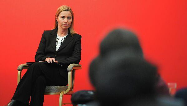 Vysoká představitelka EU pro zahraniční a bezpečnostní politiku Federica Mogheriniová - Sputnik Česká republika