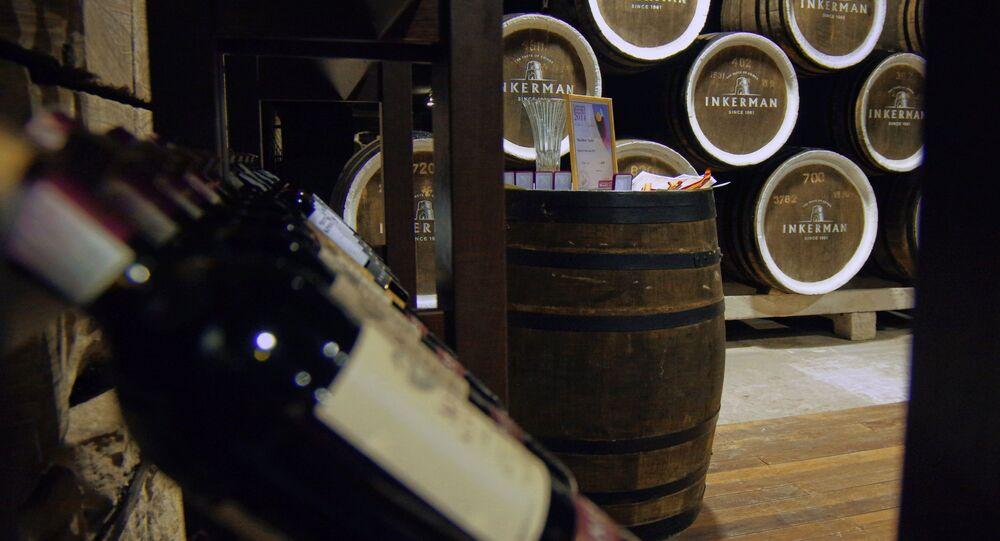 Výroba vína na Krymu