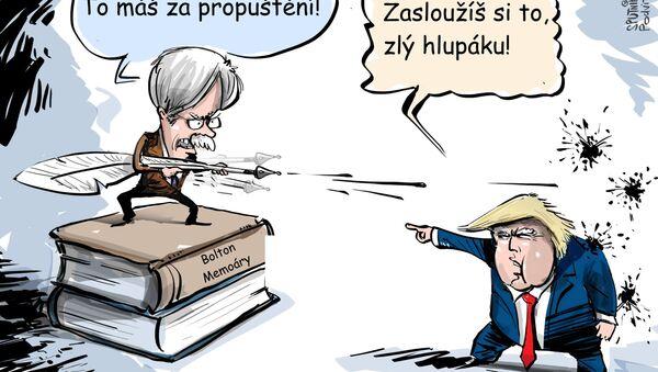 Rozzlobený Bolton vydal své memoáry - Sputnik Česká republika
