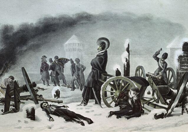 Napoleonova armáda v Smolensku