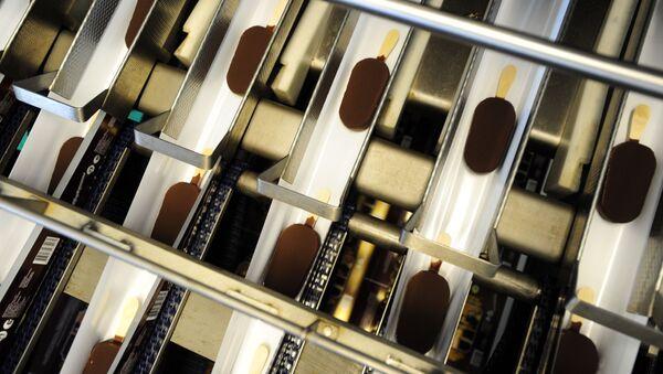 Výroba zmrzliny. Ilustrační foto - Sputnik Česká republika