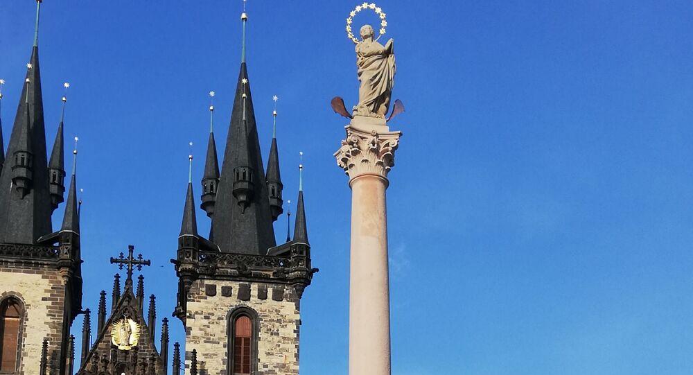 Mariánský sloup v Praze