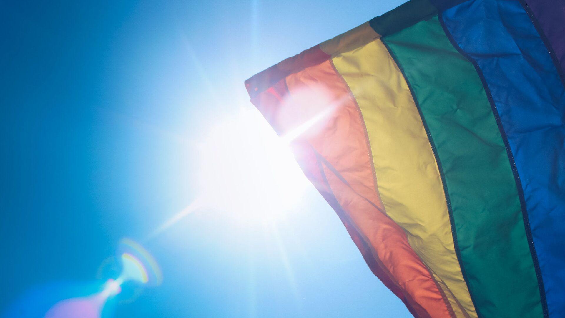 Vlajka LGBT - Sputnik Česká republika, 1920, 05.06.2021