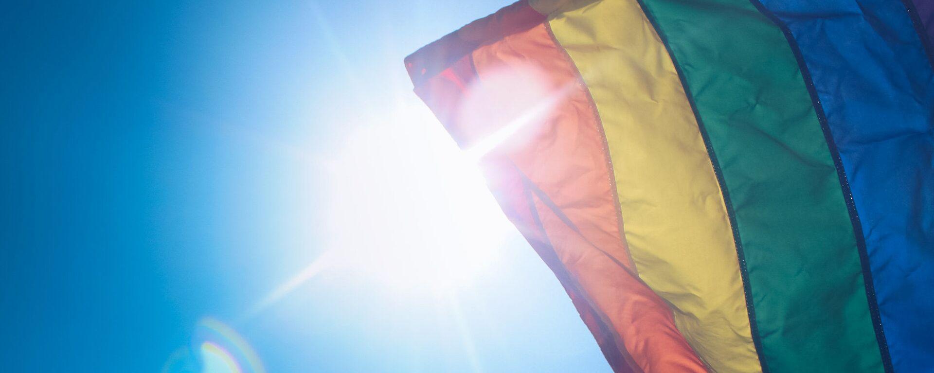 Vlajka LGBT - Sputnik Česká republika, 1920, 30.07.2021