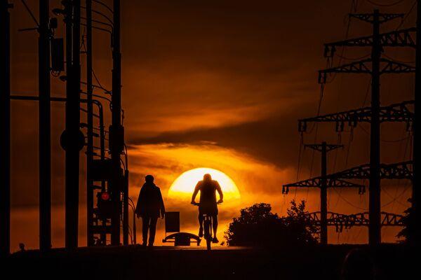 Západ slunce v Moskvě - Sputnik Česká republika
