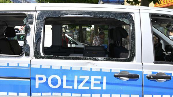 Nepokoje ve Stuttgartu  - Sputnik Česká republika