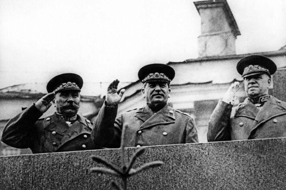 Generální tajemník Komunistické strany Sovětského svazu Josif Stalin.