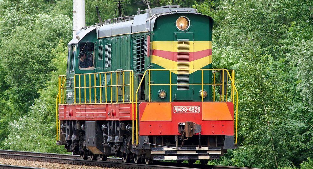 Lokomotiva ČKD v Moskvě