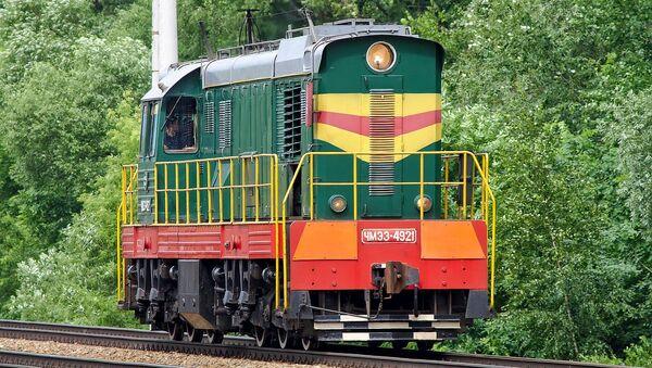 Lokomotiva ČKD v Moskvě - Sputnik Česká republika