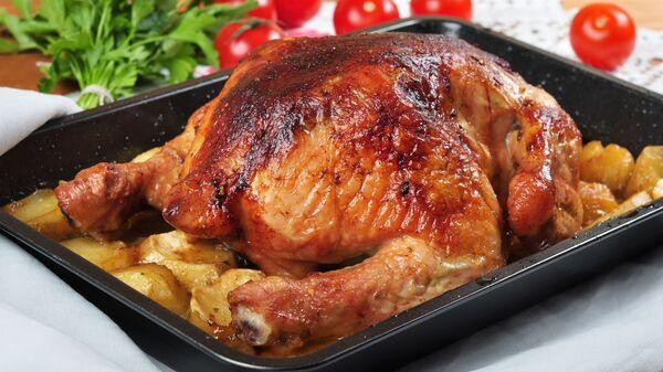 Pečené kuře v troubě - Sputnik Česká republika