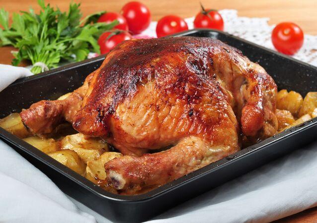Pečené kuře v troubě