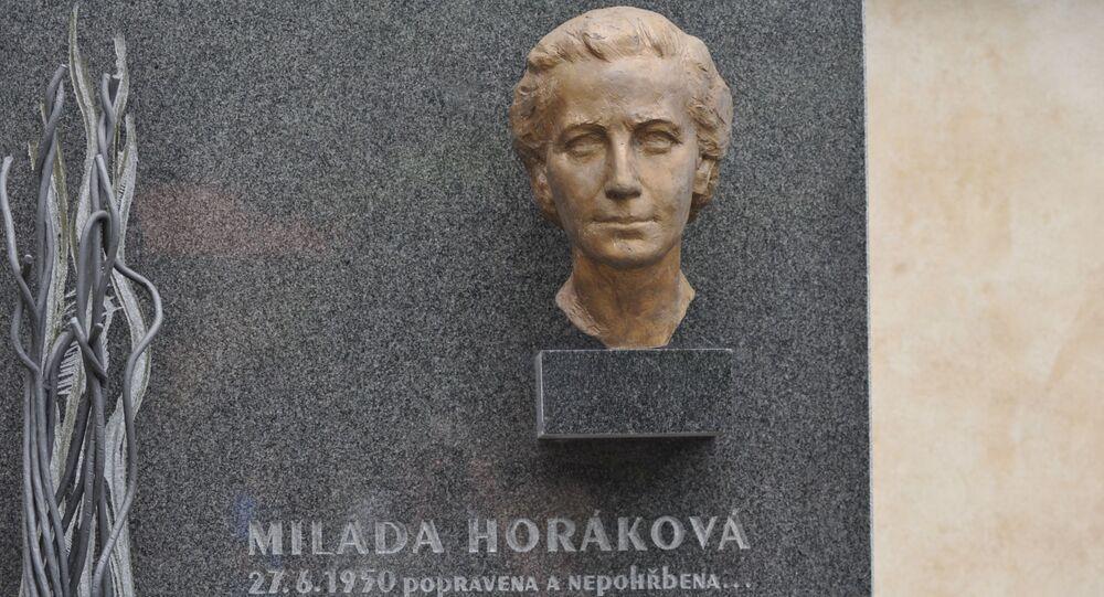 Busta Milady Horákové