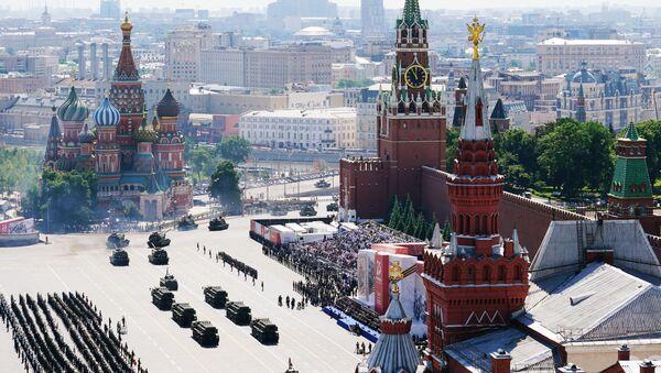 Vojenská přehlídka u příležitosti 75. výročí vítězství na Rudém náměstí - Sputnik Česká republika