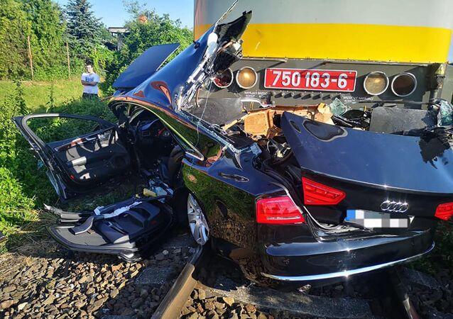 Nehoda v Nitře