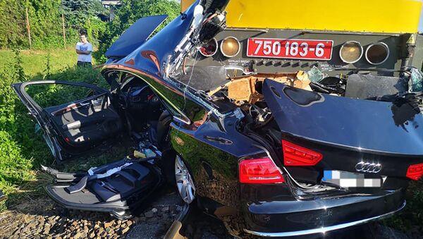 Nehoda v Nitře - Sputnik Česká republika
