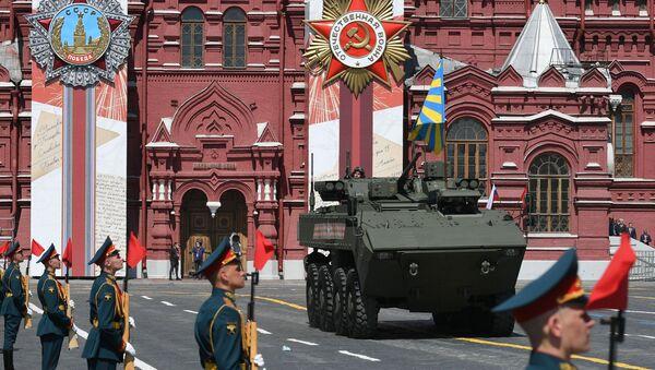 Vojenská přehlídka na Rudém náměstí 24.června 2020 - Sputnik Česká republika