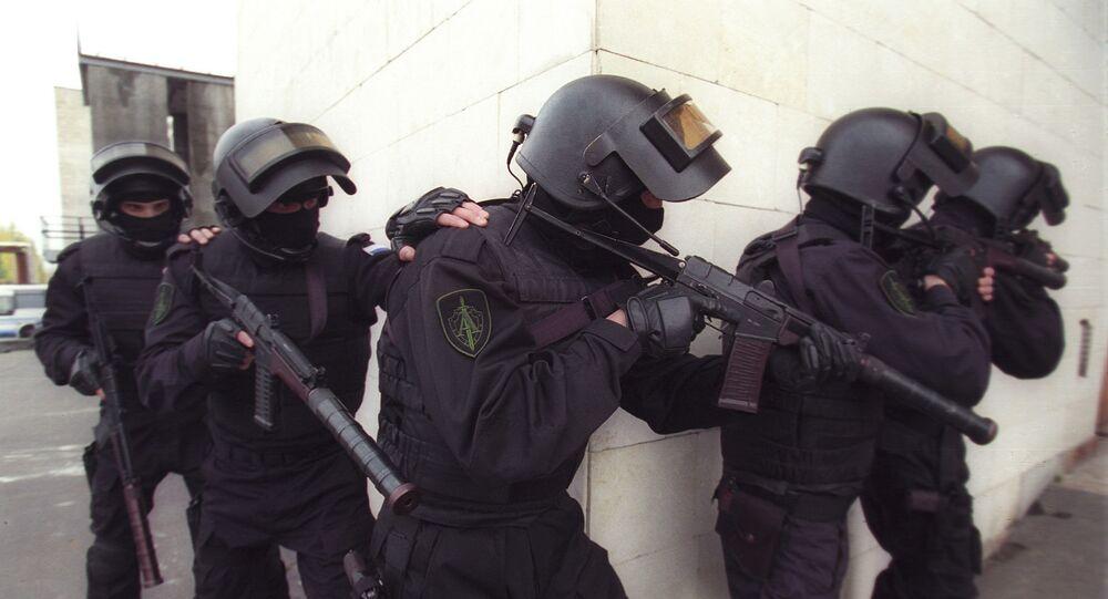 Příslušníci speciálních sil ALFA spadajících pod FSB