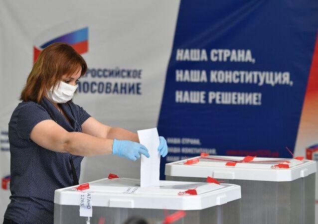 Hlasování o změnách ruské ústavy