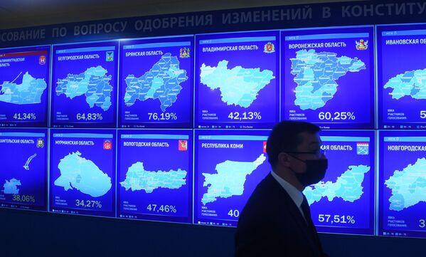 Hlasování ve vesmíru, ochranné obleky a medvědi: V Rusku končí hlasování o změnách tamní ústavy - Sputnik Česká republika