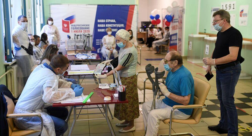 Hlasování o změnách Ústavy Ruské federace v Moskvě