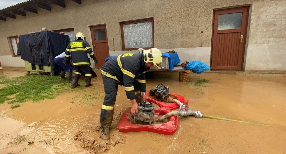 Čtvrteční zásah hasičů na Olomoucku