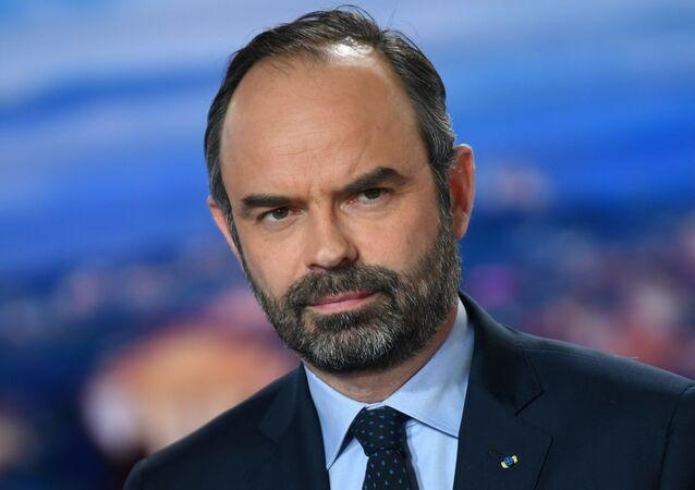 Francouzský předseda vlády Édouard Philippe