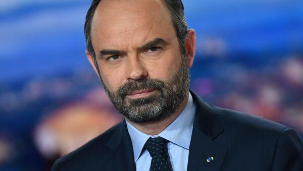 Francouzský předseda vlády Édouard Philippe - Sputnik Česká republika
