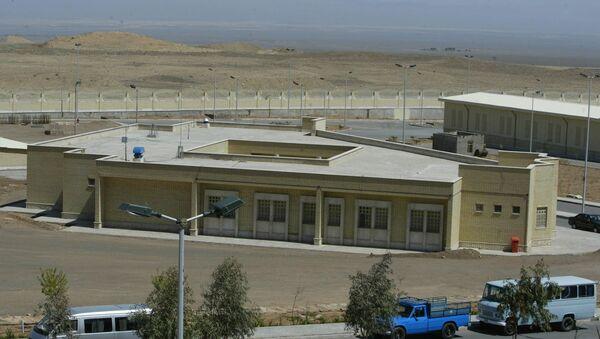 Íránská jaderná elektrárna v Natanzu - Sputnik Česká republika