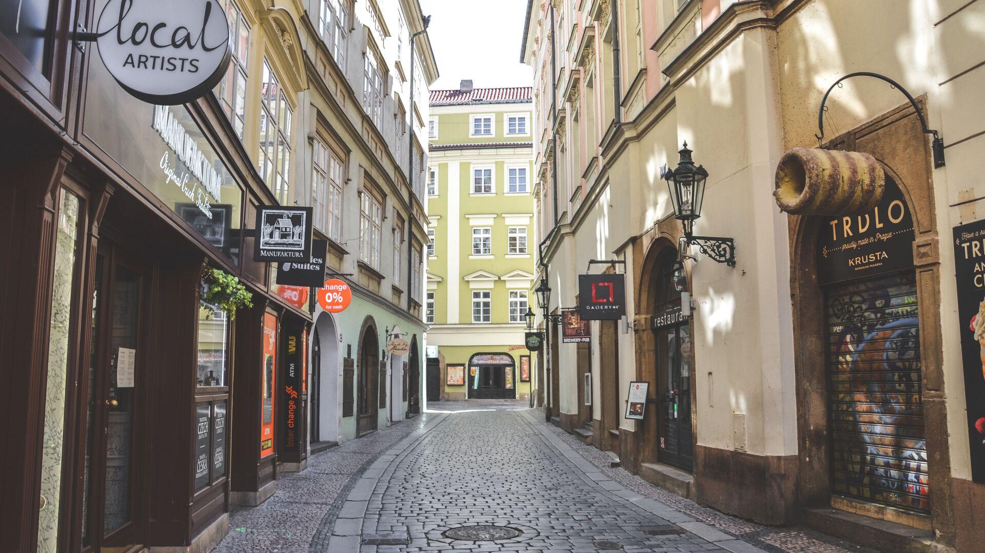 Praha v době koronaviru - Sputnik Česká republika, 1920, 21.04.2021