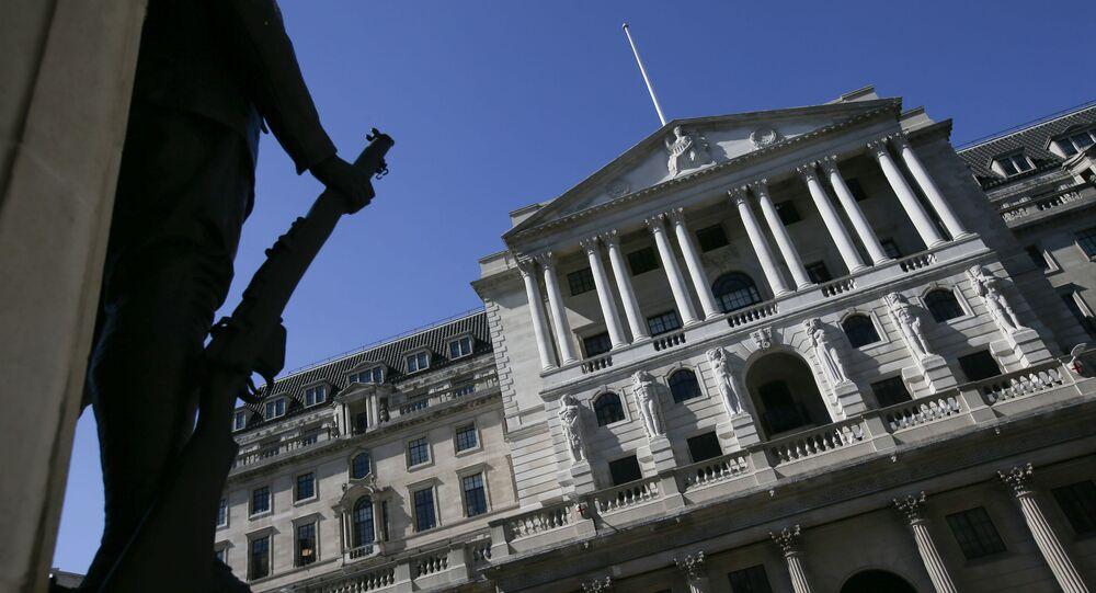 Budova Bank of England