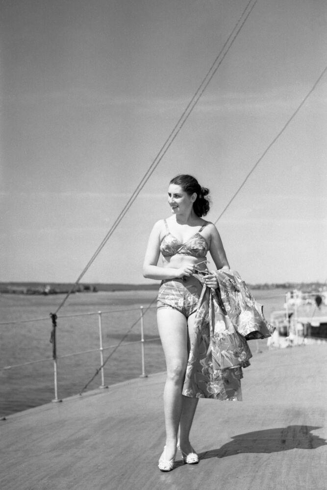 Sovětská móda sezóny jaro-léto 1956