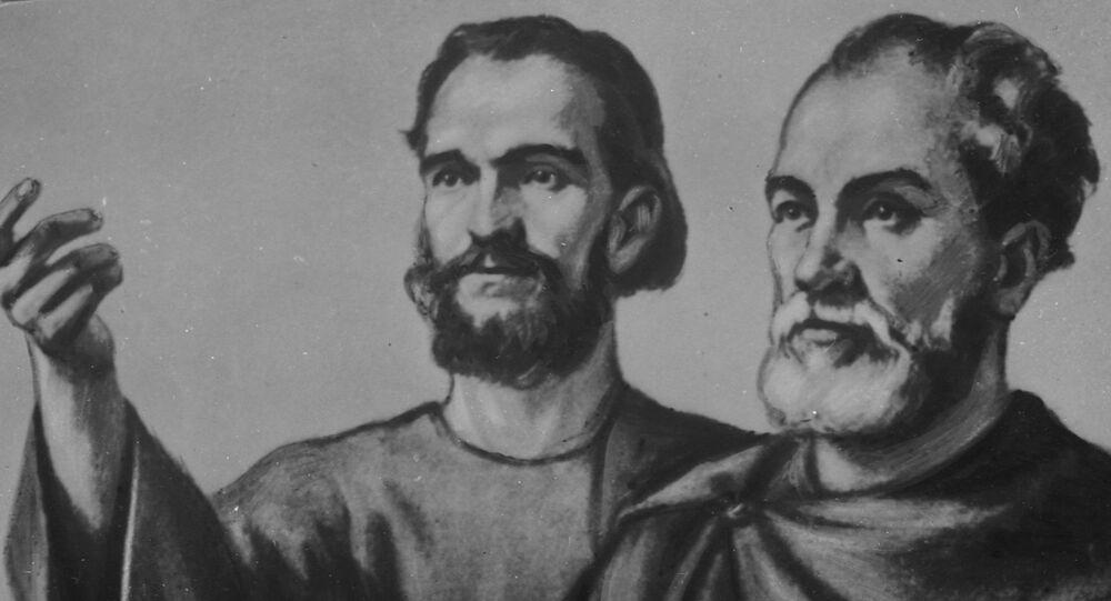 Kazatelé Cyril a Metoděj