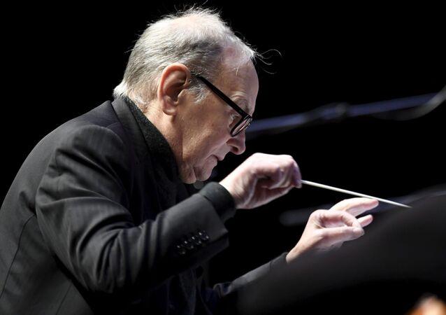 Skladatel Ennio Morricone