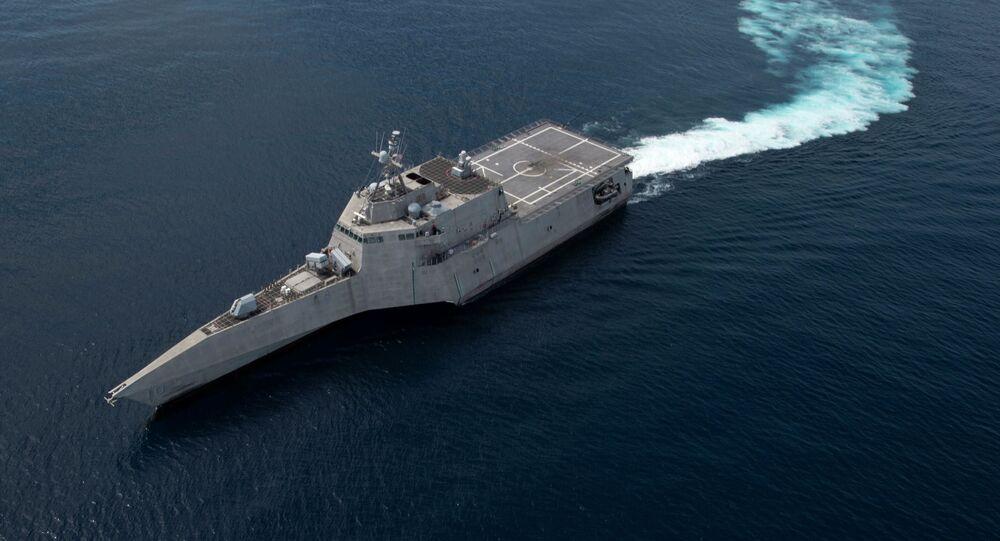 Pobřežní bitevní loď třídy Independence Gabrielle Giffords