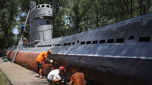Druhý život: Aktivisté obnovili historickou ponorku v Krasnodaru - Sputnik Česká republika