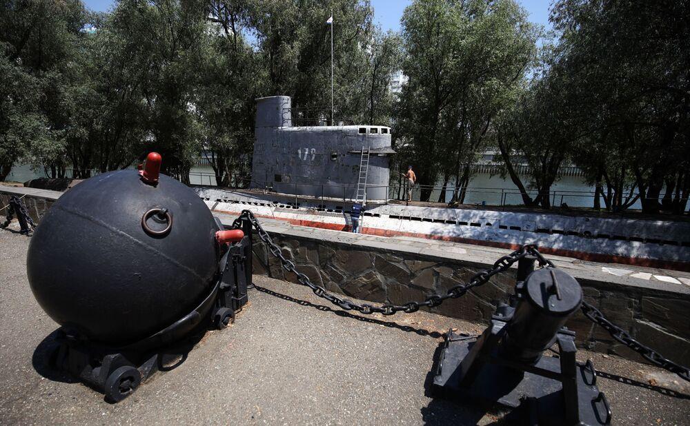 Druhý život: Aktivisté obnovili historickou ponorku v Krasnodaru