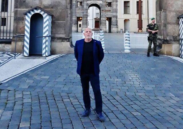 Člen Rady České televize Zdeněk Šarapatka