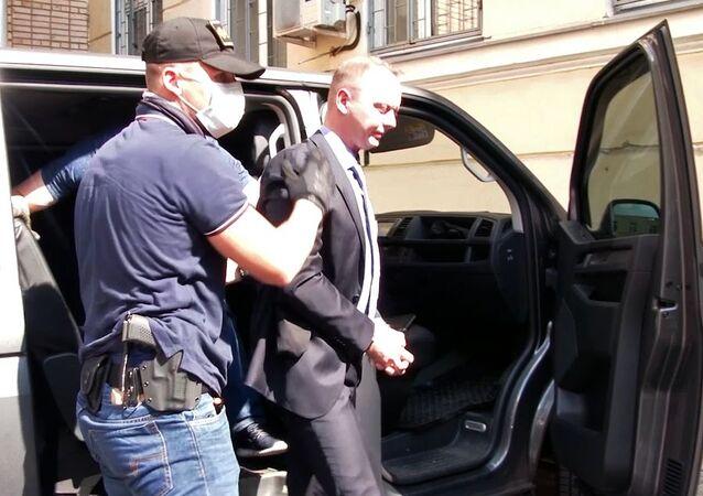 Zadržení Ivana Safronova