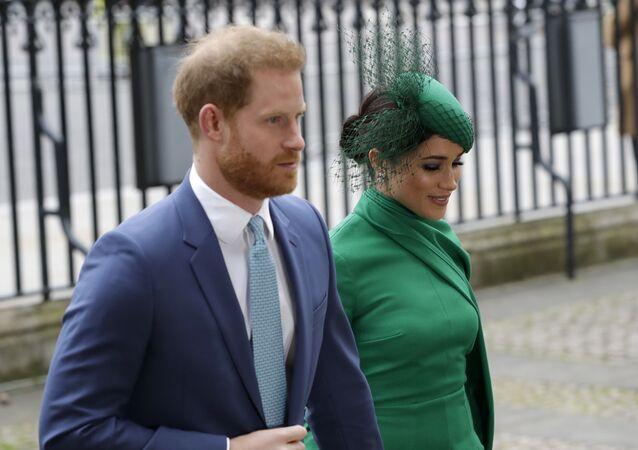 Princ Harry a Meghan Markleová